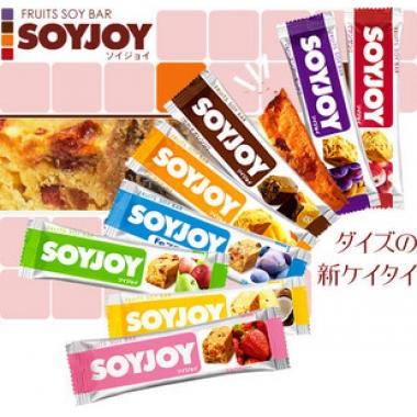 【14入】日本SOYJOY 低GI大豆营养水果减肥代餐棒(女人我最大推荐)