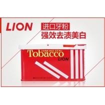 狮王LION吸烟人士专用牙粉160g除烟垢好帮手