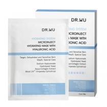 DR.WU玻尿酸微導保濕面膜一盒