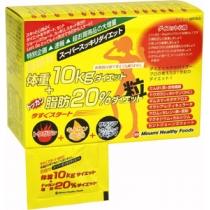 小S推薦MINAMI減脂肪20%氨基酸瘦身纤体丸 75日量(黄盒)