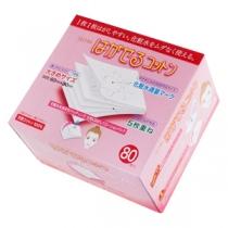 牛尔力荐-日本丸三5层超薄高保湿化妆棉(80枚)一片可当5片用