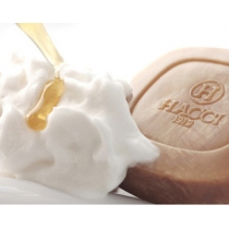 HACCI-老铺养蜂园蜂蜜美白洁面皂  80G