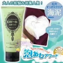(COSME大赏冠军)【ROSETTE】海泥毛孔清洁去除黑头洁面膏120g绿色