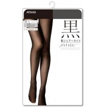 厚木ATSUGI 【黑】25丹尼连裤丝袜 (半透明)FP5199