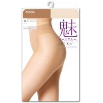 ASTIGU【魅】素肌感魅隐形肤色天鹅绒素肌连裤袜丝袜