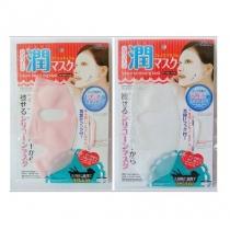 面膜神器 日本DAISO大创面膜用硅胶面罩防水防精华蒸发 单片装