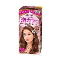 新花王-玫瑰茶棕( Prettia泡沫染发膏) 4901301275257