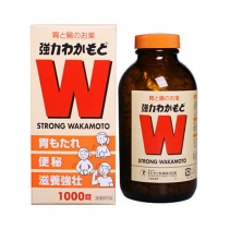 诺元锭Wakamoto乳酸菌啤酒酵母安抚肠胃解除便秘1000粒