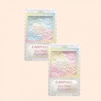 Canmake花瓣雕刻打亮颊彩高光粉