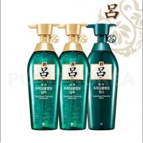 升级版!韩国【吕】汉方修复舒盈清润清爽控油洗发护发组(绿吕)