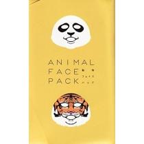 ANIMAL FACE一心堂 动物图案老虎熊猫保湿面膜2片入(熊猫老虎各1枚)
