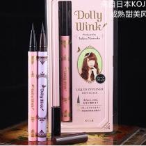 最新KOJI Dolly Wink美型濃黑眼線液