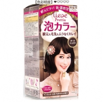 (人气色)新花王 Prettia泡沫染发膏 巧克力深棕4901301266255