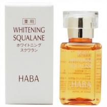 日本HABA SQ鲨烷美白精纯美容油15ML(美白保湿抗氧化)