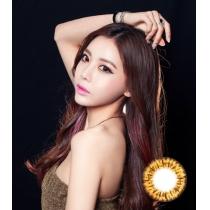 韩国硅水凝胶高端美瞳 Barbie系列芭比女孩棕(预订)