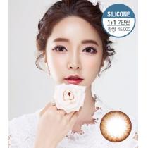 韩国  02VIEW系列阿伊可爱棕-超舒适硅水凝胶材质(预订)