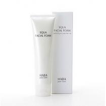 HABA无添加抗敏 鲨烷保湿洁面乳100g 泡沫洗面奶温和