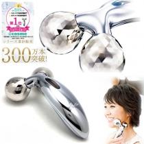 (COSME大赏冠军)日本ReFa Carat 铂金电子滚轮美容仪圆双珠 按摩纤脸瘦脸神器 标准版