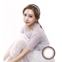 韩国硅水凝胶高端美瞳 02 VIEW系列Neutral素清巧克力-超舒适硅水凝胶材质(预订)