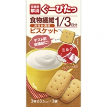 【空腹感解消】NARISUP空腹感 低卡路里饼干豆乳(牛奶)3枚×3袋一盒 4955814135584