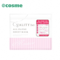 (COSME大赏)Quality First多效合一玻尿酸高保湿美容液皇后面膜50片
