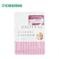 (COSME大赏)Quality First多效合一玻尿酸高保湿美容液面膜7片