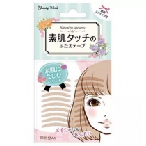 日本Beauty World素肌双眼皮贴60入 肉色超隐形自然