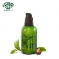 Innisfree绿茶籽精萃水分菁露小绿瓶补水保湿肌底液80ML
