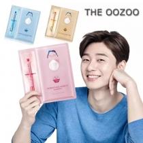 韩国OOZOO宇宙水光针剂玻尿酸复活草酵母精华面膜一盒