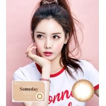 韩国SOMEDAY BROWN棕色 1 MONTH/2PCS