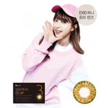 韩国硅水凝胶高端美瞳Dream Color系列 WANNABE  BROWN棕色