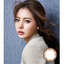 韩国硅水凝胶高端美瞳NEW TUTTI系列BROWN棕色