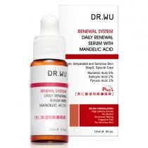 林允推荐!DR.WU 8%杏仁酸溫和煥膚精華15ml