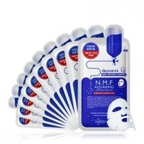 韩国MEDIHEAL美迪恵尔 NMF针剂水库面膜贴5片 补水保湿(蓝)