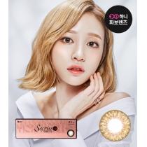 韩国Secriss 3con Natural 日抛系列香槟棕色(日抛20片一盒)