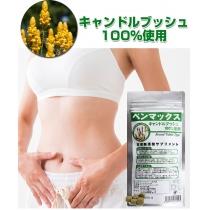 日本BENMAX便卜-便秘宿便清肠 瘦身排毒膳食纤维240粒