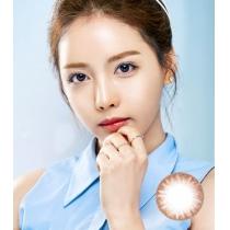 韩国硅水凝胶高端美瞳CHARM EYE系列 淡彩晶莹棕
