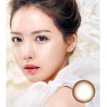 韩国硅水凝胶高端美瞳Dream Color系列 淡彩琥珀啡