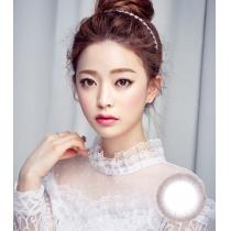 韩国硅水凝胶高端美瞳 MOTIVE典雅清新灰色