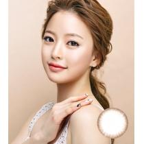 韩国硅水凝胶高端美瞳 MOTIVE素雅清新棕