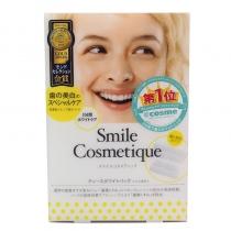 (COSME大赏第一)Smile Cosmetique美白牙贴 6入 -高浓负离子清洁去污亮白