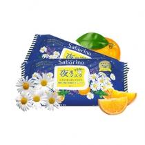 日本Saborino晚安夜间专用面膜保湿滋润清洁免洗28片