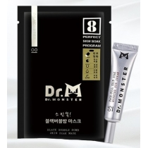 Dr.monster 小怪獸山羊奶浴SPA泡泡面膜8片一盒