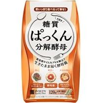 范冰冰推荐!日本SVELTY Pakkun糖质分解酵母生成酵素120粒
