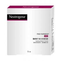 范冰冰推荐!Neutrogena露得清 细白修护面膜5片无盒