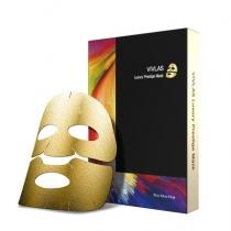 范冰冰推荐!韩国VIVLAS 奢华黄金铂金锡纸蒸汽面膜5片一盒