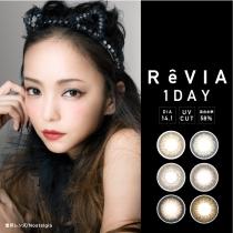 安室奈美惠代言 REVIA 日抛美瞳隐形眼镜10片一盒