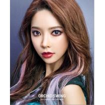 韩国高端硅水凝胶 ORCHID SWIND 性感蓝绿色 年抛美瞳 最高1000度