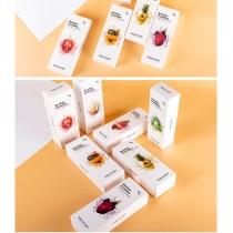 韩国春雨果蔬面膜10片一盒