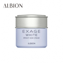 ALBION EXAGE WHITE清新焕白朝露精华霜30g
